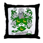 Robinson Coat of Arms Throw Pillow