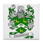Robinson Coat of Arms Tile Coaster