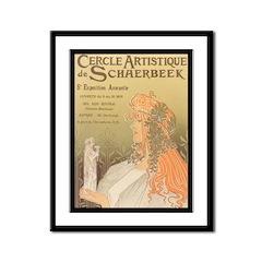 Cercle Artistique Framed Print