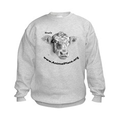 Howie the Cow, Animal Place Sweatshirt