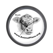 Howie the Cow, Animal Place Wall Clock