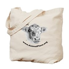 Howie the Cow, Animal Place Tote Bag