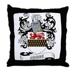 Roome Coat of Arms Throw Pillow