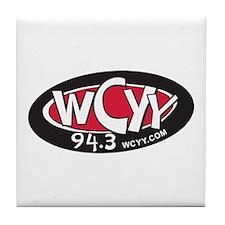 WCYY Tile Coaster