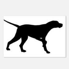 Pointer Dog On Point Postcards (Package of 8)