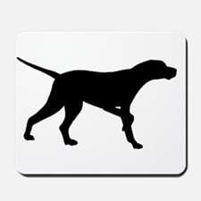 Pointer Dog On Point Mousepad