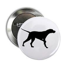 """Pointer Dog On Point 2.25"""" Button"""