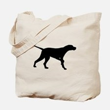 Pointer Dog On Point Tote Bag