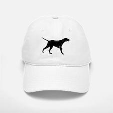 Pointer Dog On Point Baseball Baseball Cap