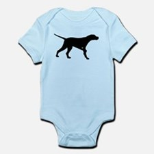 Pointer Dog On Point Infant Bodysuit