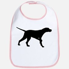 Pointer Dog On Point Bib