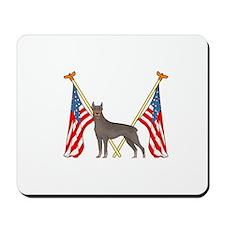 All American Doberman Mousepad