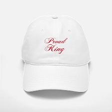 Proud King Baseball Baseball Cap