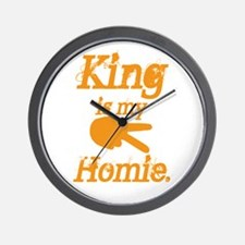 King is my Hoime Wall Clock