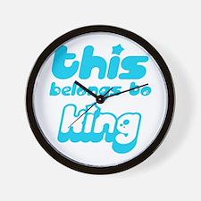 this belogns to King Wall Clock