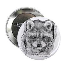 "Baby Raccoon 2.25"" Button"