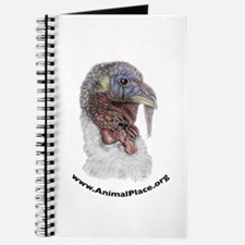 Animal Place Beautifully Colored Turkey Journal