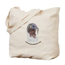 Animal Place Beautifully Colored Turkey Tote Bag