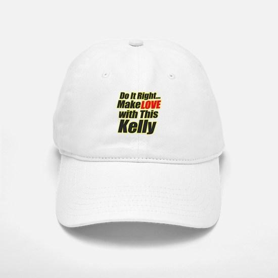Make love with this Kelly Baseball Baseball Cap