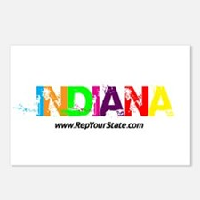 Colorful Indiana Postcards (Package of 8)