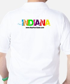 Colorful Indiana T-Shirt
