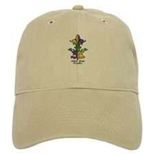 Mardi Gras Royalty Baseball Cap