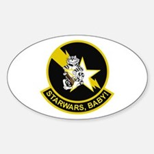 VF-33 Starfighters Oval Decal