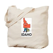 Idaho Fun State Tote Bag