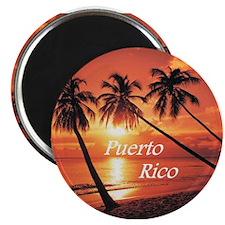 """Puerto Rico"" Magnet"