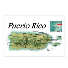 """Puerto Rico"" Postcards (Qty. 8)"
