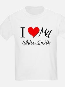 I Heart My White Smith T-Shirt