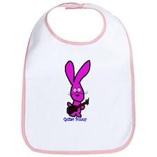 guitar bunny Bib