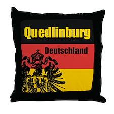Quedlinburg Deutschland Throw Pillow