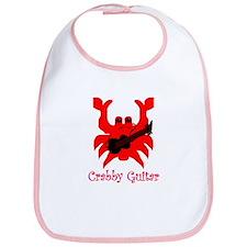 crabby guitar Bib