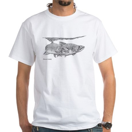 Brook Trout White T-Shirt