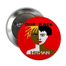 """Anti-Racism 2.25"""" Button (10 pack)"""