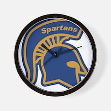 Unique Spartan Wall Clock