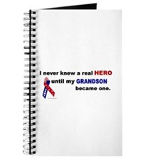 Never Knew A Hero.....Grandson (ARMY) Journal