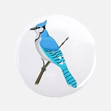 "Bluejays 3.5"" Button"