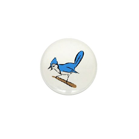 Bluejays Mini Button (10 pack)