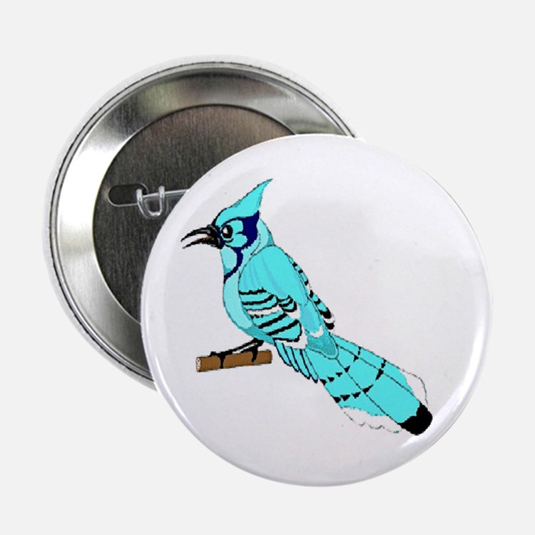 "Bluejays 2.25"" Button"