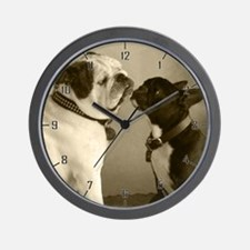 REGGIE & PEPI Wall Clock