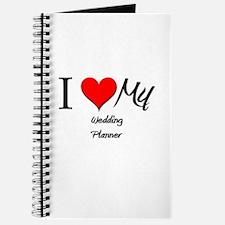 I Heart My Wedding Planner Journal