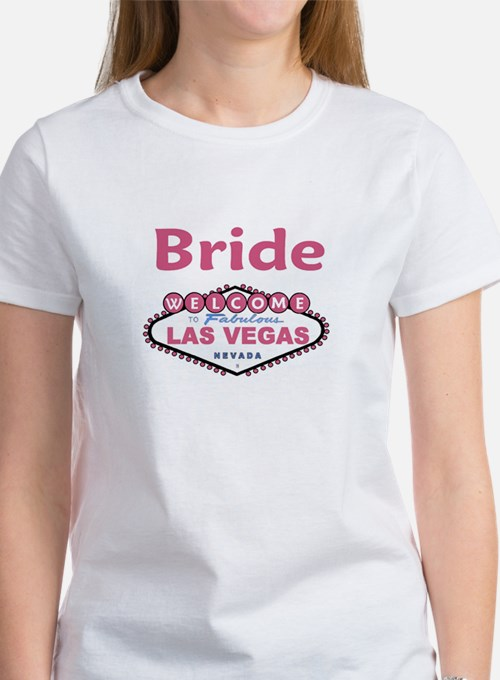 Paris Pink Bride Women's T-Shirt