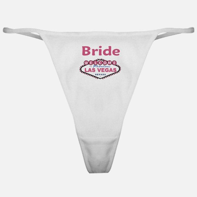 Paris Pink Wedding Classic Thong