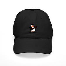 guitar penguin Baseball Hat