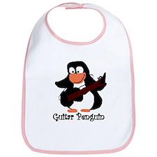 guitar penguin Bib