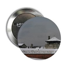 "Old Fort Niagara Guardhouse in Winter 2.25"" Button"