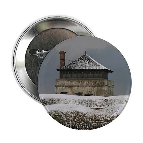 "Old Ft Niagara Guardhouse Winter Photograph 2.25"""