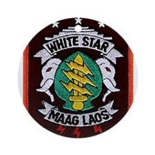 White Star MAAG Laos Ornament (Round)